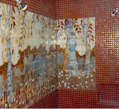 tiled-shower